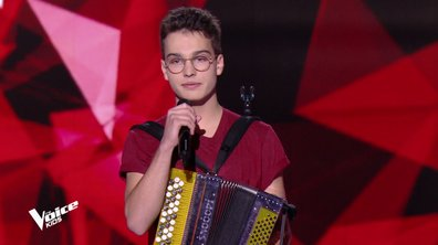 The Voice Kids - Pierre chante « Ces gens-là » de Jacques Brel