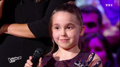 Retour sur le parcours sans faute de Manuela, grande gagnante de The Voice Kids 3