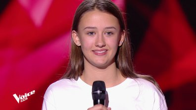 The Voice Kids - Romane chante « Dusk till dawn » de Zayn feat. Sia