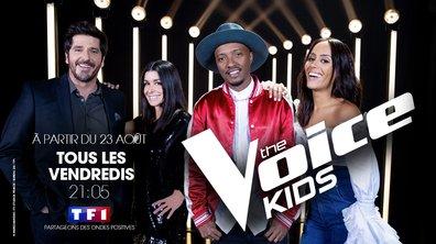 The Voice Kids, saison 6 : Jenifer, Amel Bent, Soprano et Patrick Fiori sont de retour le 23 août !