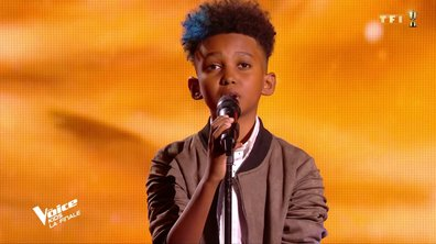 The Voice Kids : Soan chante « SOS d'un terrien en détresse » de Daniel Balavoine (Team Amel Bent)