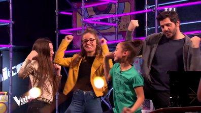 #TeamPatrick - Ilona, Lina et Irma improvisent une danse avec leur coach