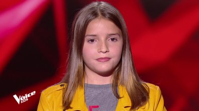 The Voice Kids – Valéria chante « All I ask » d'Adele