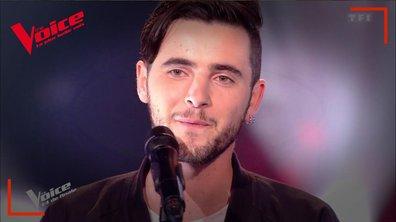 """Louis Delort : """"Le monde est à rendre"""" en live sur la scène de """"The Voice"""""""