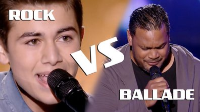 Le match des blinds : ROCK vs BALLADE ?