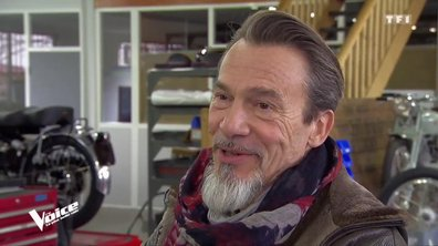 On a suivi Florent Pagny en dehors du plateau… direction son jardin secret