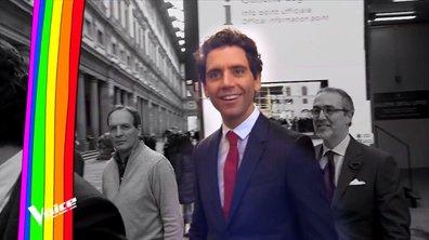 """On a suivi Mika quand il n'est pas sur le plateau de """"The Voice"""""""