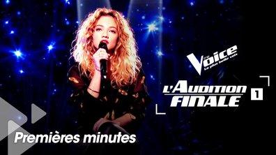 Avant-première : les premières minutes de l'Audition Finale