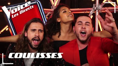 La fête continue dans les coulisses du premier direct de The voice 8 !