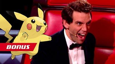 Samedi soir, Mika est dans le monde des Pokémon !