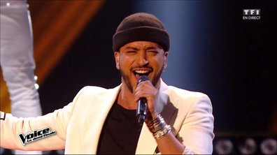Slimane chante en direct « I Got You (I Feel Good) » (James Brown) pour la demi-finale (Saison 05)
