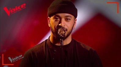 """Slimane : """"Viens, on s'aime"""" en live sur la scène de """"The Voice"""""""