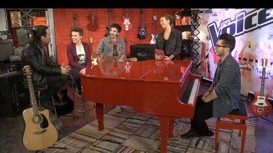 The Voice : découvrez le Social Concert  d'Olympe, Loïs, Nuno et Baptiste !