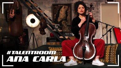 #TALENTROOM  -  Ana Carla : « Clandestino » Et « Je Ne T'aime Plus » (Mashup) Manu Chao