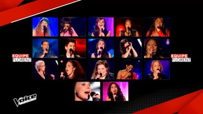The Voice 4 : Tous les talents de l'équipe de Florent Pagny en images