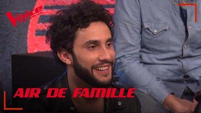 """Comme un air de famille : Anto le Cousin d'Amir tente l'aventure """"The Voice"""""""