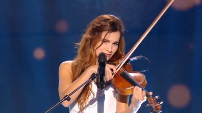 Avec son violon, Gabriella  bouleverse public et coachs sur « The Scientist » (Coldplay). (Saison 05)