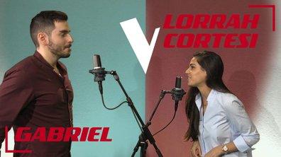 La Vox des talents : Lorrah Cortesi vs Gabriel | Dream a little dream of me | Ella Fitzgerald et Louis Armstrong