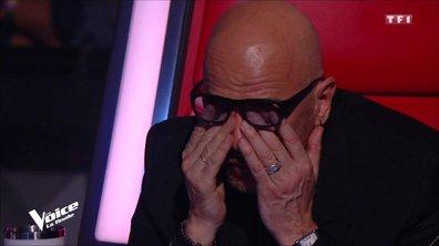 Zazie et Pascal Obispo ne peuvent plus retenir leurs larmes pendant l'hommage de Maurane