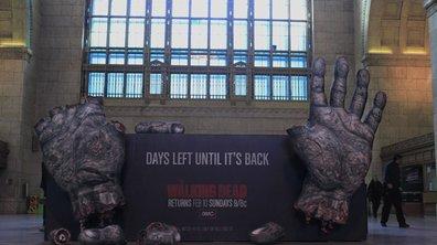 The Walking Dead is back !
