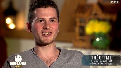 Découvrez Théotime, nouvel aventurier de l'émission (VIDEO)