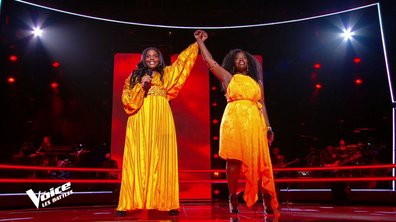 "The Voice 2021 – Mentissa VS Stellia Koumba chantent ""Freedom"" de Beyoncé"
