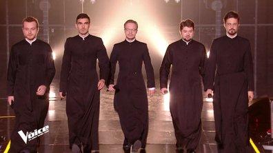 THE VOICE 2020 - L'habit ne fait pas le moine, les prêtres orthodoxes sur le plateau