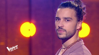 "The Voice 2021 – Quentin Malo chante ""L'amour à la machine"" de Alain Souchon (KO)"