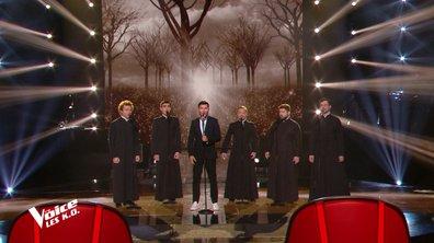 """The Voice 2021 - Vincent Niclo et les prêtres orthodoxes chantent """"Ils s'aiment"""" de Daniel Lavoie et """"Sovet Prevechnii"""""""