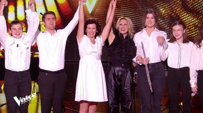 """The Voice 2020 - Maria et """"ses étoiles"""" bouleversent les coachs, Lara Fabian en larmes"""
