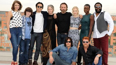 Les acteurs de The Walking Dead décontractés à San Diego