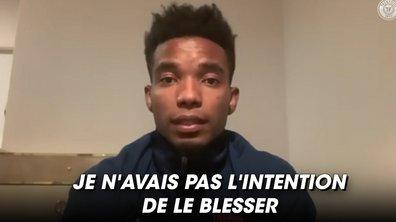 VIDEO – Les excuses de Thiago Mendes après avoir blessé Neymar