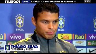 """PSG - Thiago Silva : """"Je suis toujours le monstre"""""""