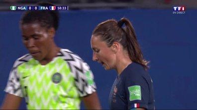 Nigeria - France (0 - 0) : Voir le tir de Thiney en vidéo