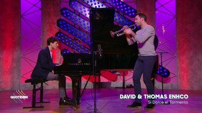 """Thomas et David Enhco – """"Si Dolce el Tormento"""" en live dans Quotidien"""