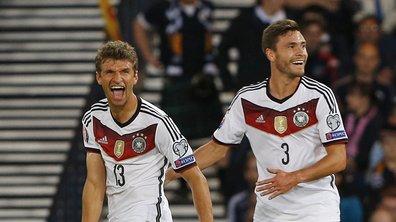 Eliminatoires Mondial 2018 : l'Allemagne cartonne, l'Angleterre plane