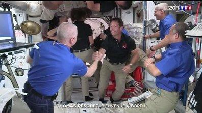 Thomas Pesquet et l'équipage de SpaceX ont rejoint l'ISS
