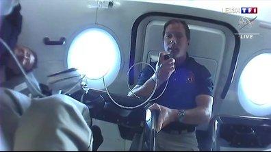 Thomas Pesquet vers l'ISS : récit de la première nuit dans l'espace