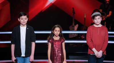 The Voice Kids 2020 – Rebecca vs Martin vs Thomas chantent « Utile » de Julien Clerc (Team Patrick Fiori)