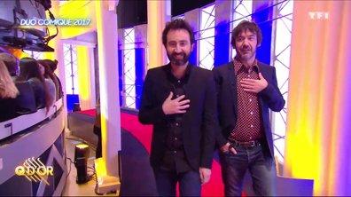 Thomas VDB et Mathieu Madénian, Q d'Or du duo de l'année 2017