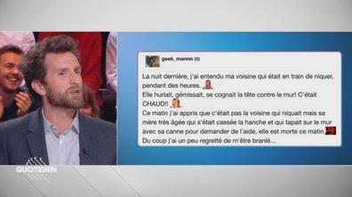 La vraie parole des Français vrais : les voisins