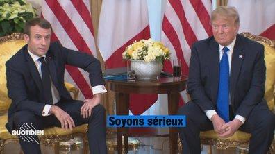 Profession président : entretien très tendu entre Macron et Trump