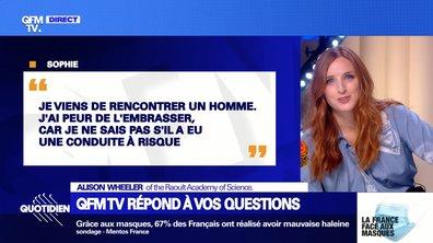 QFMTV : Jean Castex, port du masque et microparticule, Alison Wheeler répond à vos questions