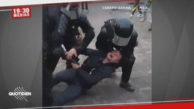 Russie : un manifestant violemment interpellé pour avoir critiqué Vladimir Poutine