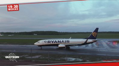 Biélorussie : le gouvernement détourne un avion Ryanair pour arrêter un opposant