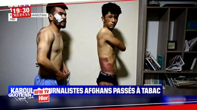 Afghanistan : le témoignage de Liseron Boudoul, reporter pour TF1