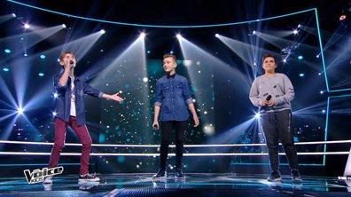 Battle : Tiago, Amani et Diego – « Le chant des sirènes » (Fréro Delavega)