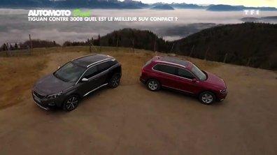 Volkswagen Tiguan contre Peugeot 3008 : Quel est le meilleur SUV compact ?
