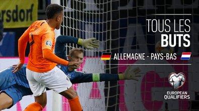 Allemagne - Pays-Bas : Voir tous les buts du match en vidéo
