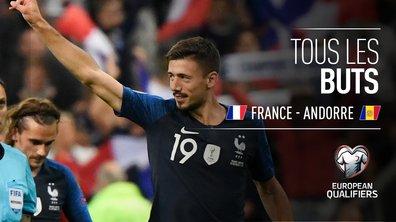 France - Andorre : Voir tous les buts du match en vidéo